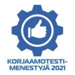 Korjaamotestimenestyjä 2021